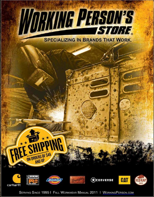 Working Person's Store's Interactive Catalog
