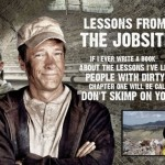 Mike Rowe Behind CAT Work Boots