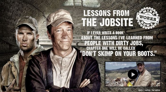 CAT Footwear And Mike Rowe