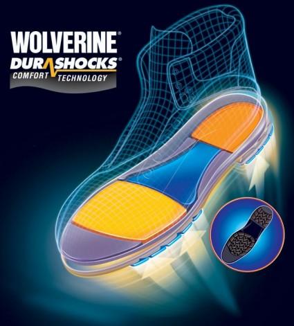 Wolverine Boots Durashock Technology