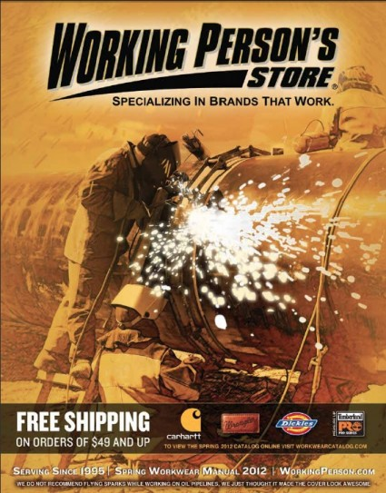 Working Person's Store 2012 Catalog