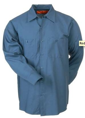 Red Kap Uniform Work Shirts