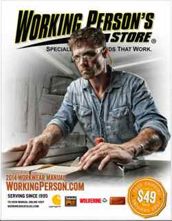 working person's store catalog