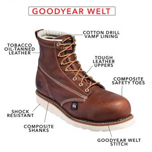 thorogood boot with goodyear welt